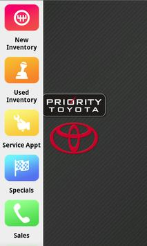 Priority Toyota poster