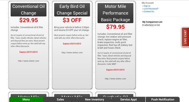 Shelor Motor Mile Dealer App apk screenshot