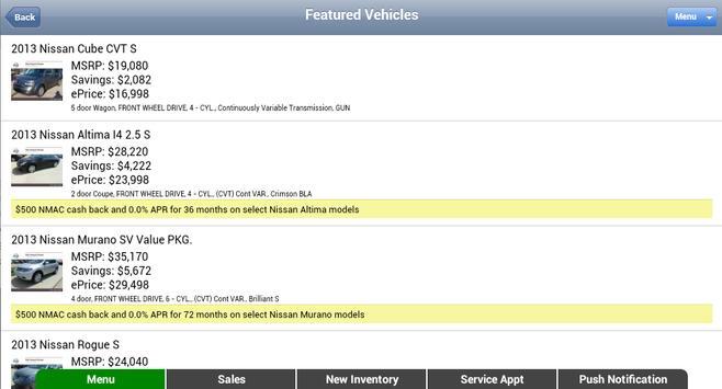 Sterling McCall Nissan apk screenshot