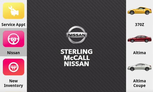 Sterling McCall Nissan poster