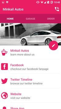 Minkail Autos poster