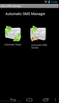 AutoSMS Send & Reply poster