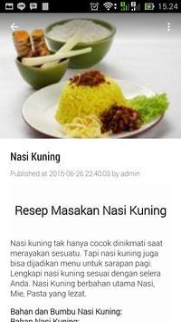 18 Ribu Lebih Resep Masakan apk screenshot