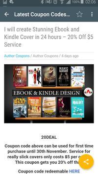 Author Coupons apk screenshot