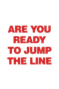 Jump The Line! poster