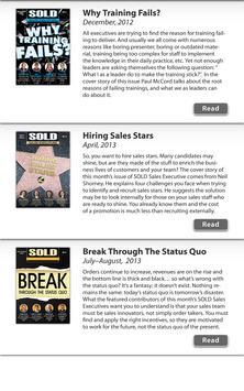 SOLD Sales Executives apk screenshot