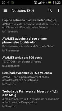 Avamet apk screenshot