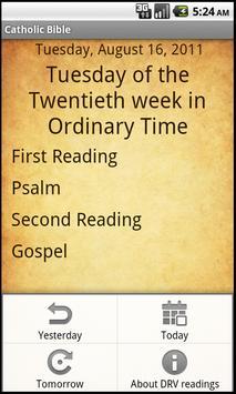 Catholic Bible Douay-Rheims apk screenshot