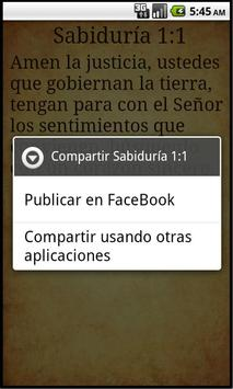 Biblia Latinoamericana apk screenshot