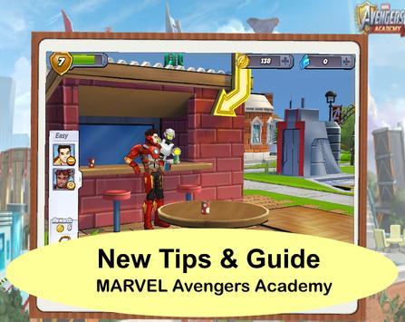 Guide MARVEL Avengers Academy. poster