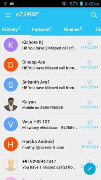 eZ SMS apk screenshot
