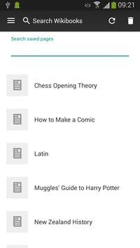 WikiSurfer for Wikibooks apk screenshot