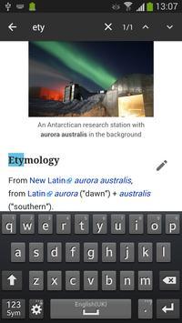 WikiSurfer for Wiktionary apk screenshot