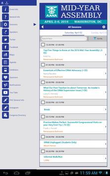 AANA Meetings apk screenshot