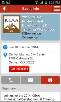 ICEAA 2014 apk screenshot
