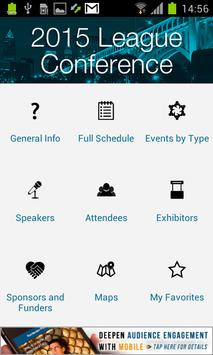 League Conference 2015 apk screenshot