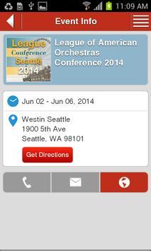 League Conference 2014 apk screenshot
