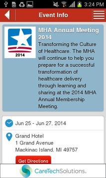 MHA Annual 2014 apk screenshot