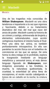 Macbeth de William Shakespeare apk screenshot