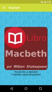 Macbeth de William Shakespeare poster