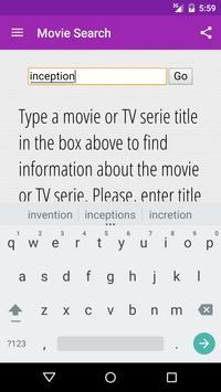 Movie Search apk screenshot
