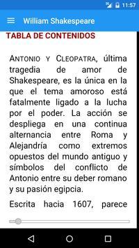 William Shakespeare - Obras apk screenshot