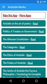 Aristotle Books poster