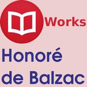 Honoré de Balzac Books icon