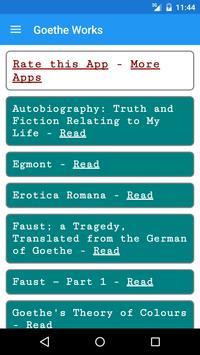 Goethe Books apk screenshot