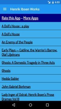 Henrik Ibsen Books apk screenshot