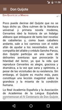 Don Quijote de la Mancha apk screenshot