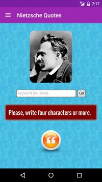 Friedrich Nietzsche Quotes apk screenshot