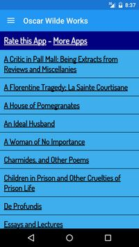 Oscar Wilde Books apk screenshot