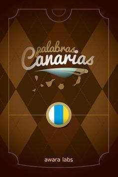 Palabras Canarias poster