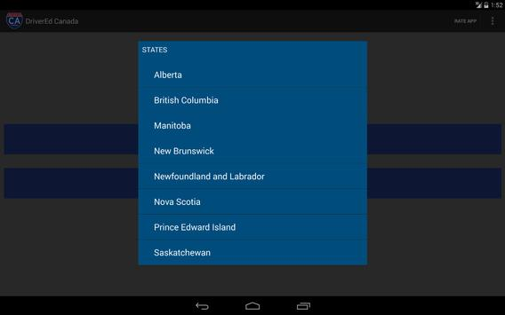 Canada Driver License Reviewer apk screenshot