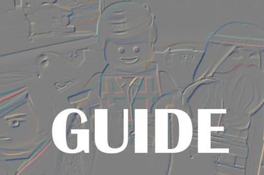 Guide Lego Movie poster