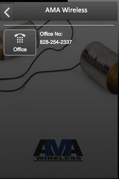 AMA Wireless apk screenshot