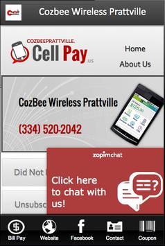 Cozbee Wireless Prattville apk screenshot