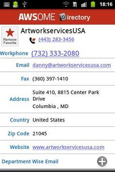 AWSome Directory apk screenshot