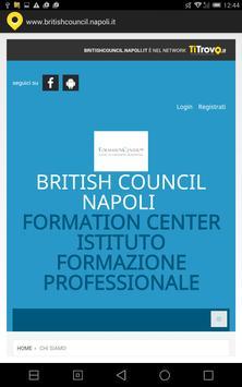 British council Napoli apk screenshot