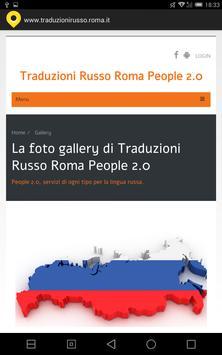 Traduzioni russo Roma apk screenshot