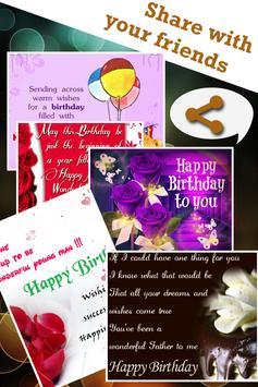 Birthday Greeting Card apk screenshot