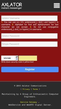 Axlator Messenger apk screenshot
