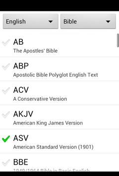 Bible Offline for Android FREE apk screenshot