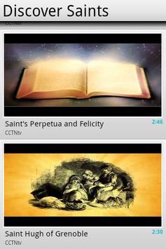 Discover Saints poster