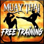muay thai training free icon