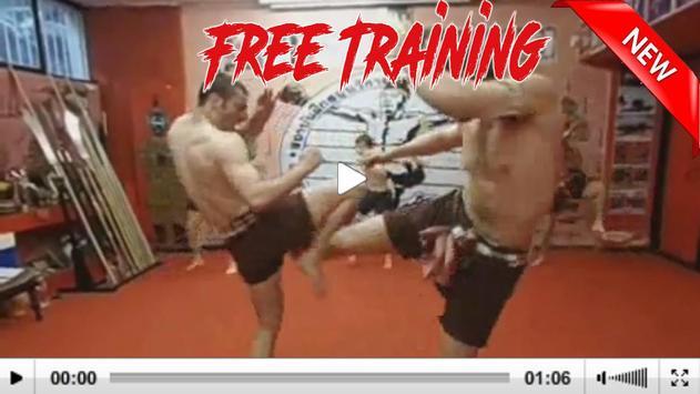 muay thai training free apk screenshot