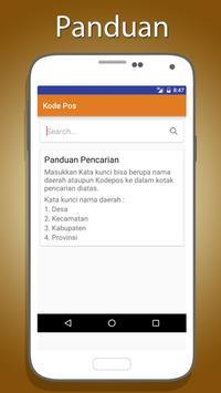 Kode POS Indonesia poster