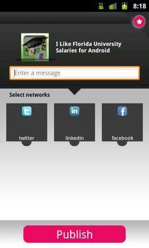 Florida University Salaries apk screenshot