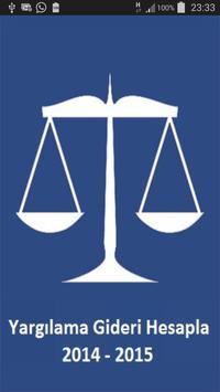 Yargılama Gideri Hesapla poster